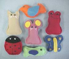 We have lots of choices for catnip toys!